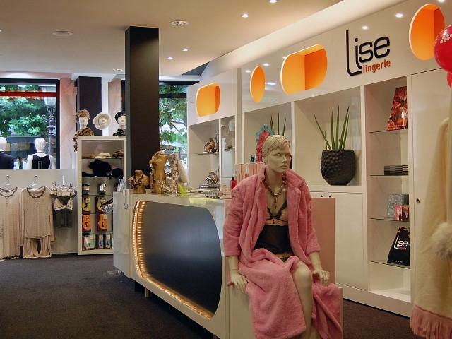 Lingerie Winkel op maat Herman Thijs Interieurbouw